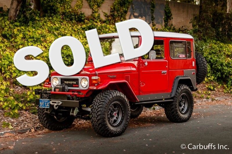 Check Out This 1979 Toyota Land Cruiser Bj40 Concord Ca Carbuffs In Red From Carbuffs It Has An Manual Engine Is In 2020 Toyota Land Cruiser Land Cruiser Toyota