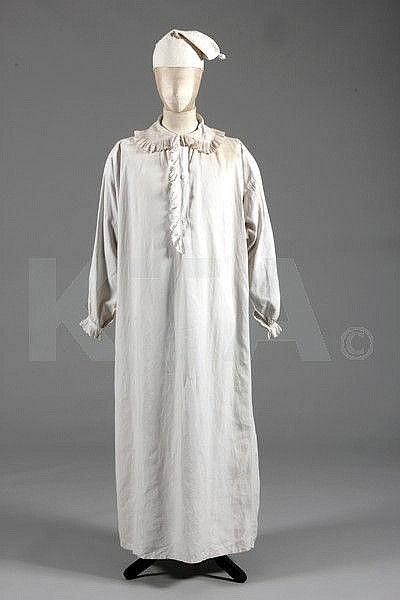 ff78a8fe93 Gentleman s nightshirt and nightcap
