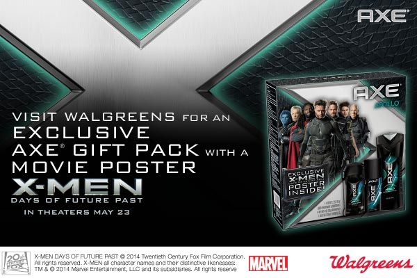 X-Men: Days of Future Past Ticket Giveaway - 3 Winners Courtesy of AXE - Thrifty Jinxy