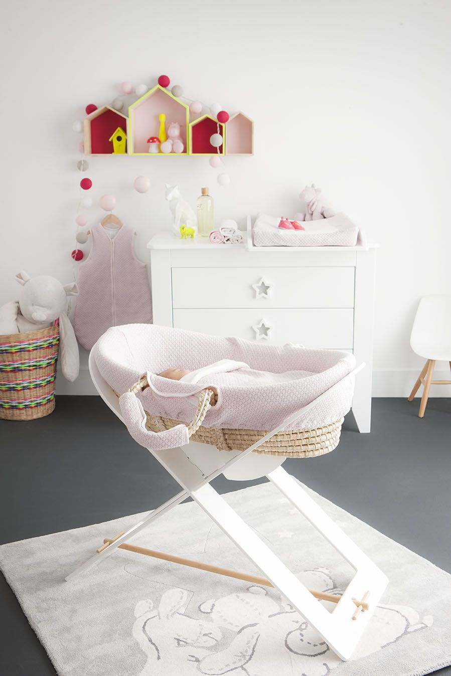 The Sublime Collection Noukie S Pink And Yellow Baby Room For Little Girls Chambre Bebe Rose E Chambre Bebe Jaune Et Rose Chambre Bebe Rose Chambre Bebe