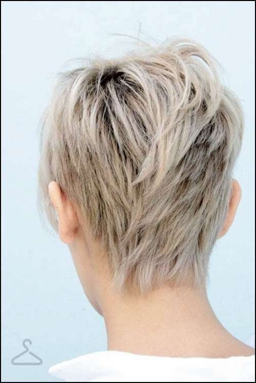 Short Hairstyles Back View Only