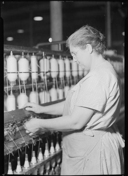 File:High Point, North Carolina - Textiles. Pickett Yarn Mill ...