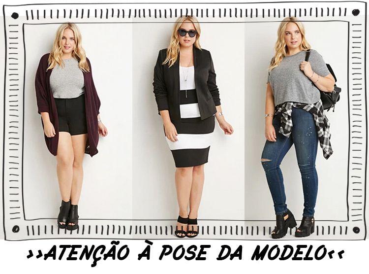5 dicas para não errar comprando roupa online »Dica 1  Preste bem atenção  na pose da modelo. 234881448da