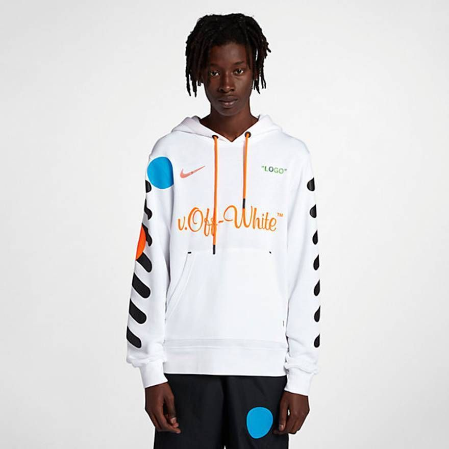 b643d196f65 New Nike x OFF-WHITE Mercurial NRG X Hoodie White Deadstock Size Large  Soccer #fashion #clothing #shoes #accessories #mensclothing #activewear  (ebay link)