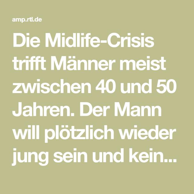 Mann midlife crisis