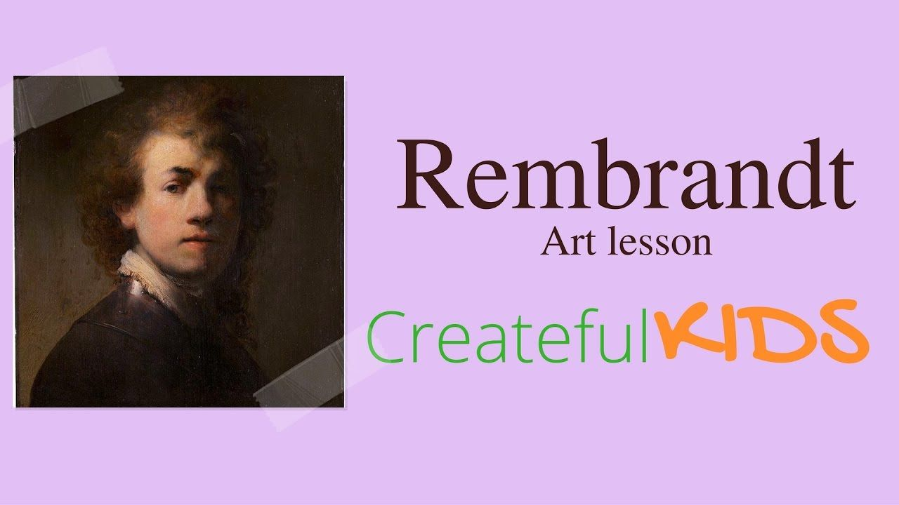 Artist Ashley Krieger teaches kids about the famous artist Rembrandt and children will create their own self portraits. This lesson is perfect for beginner a...