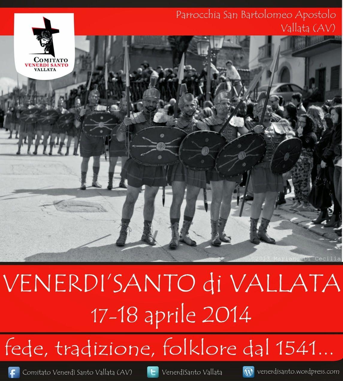 AccadeinCampania: Venerdì Santo di Vallata 2014: fede, tradizione e folklore dal 1541