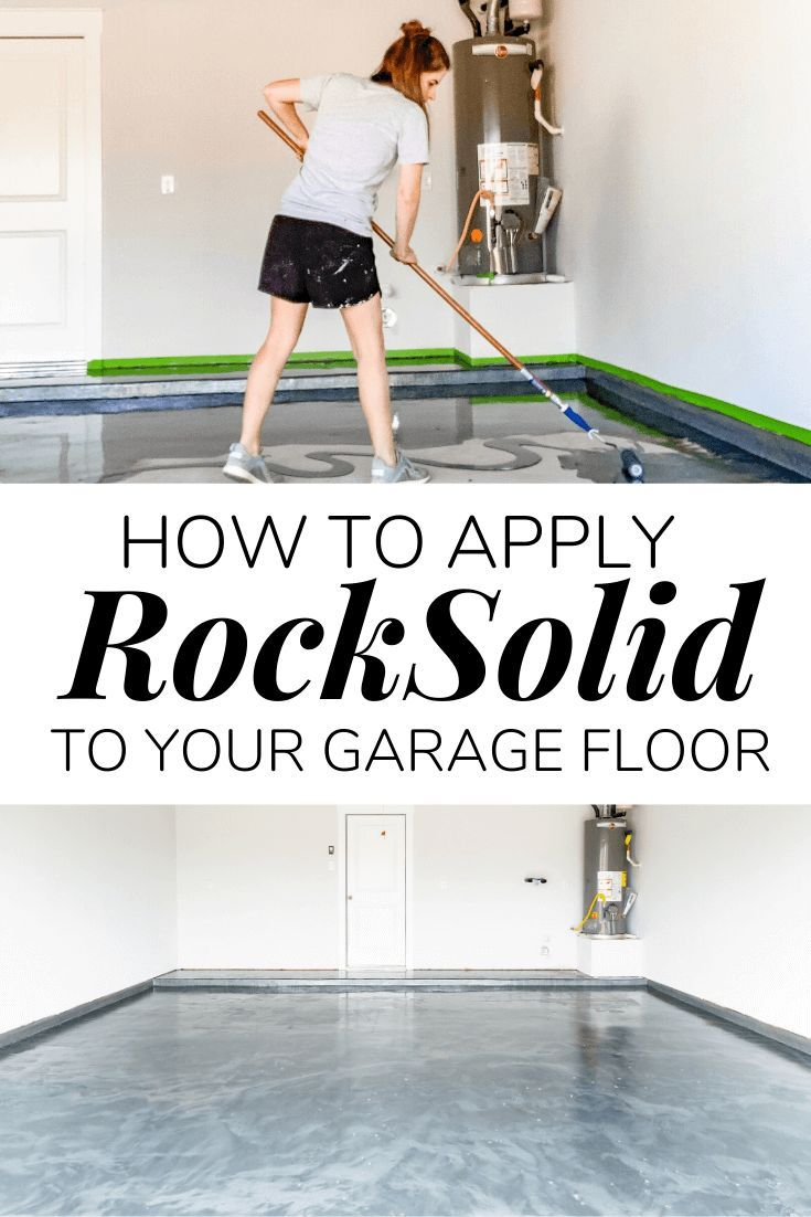How To Apply A Diy Epoxy Floor Coating In Your Garage Diy Diyproject Garage Epoxyfloor Prideinthemaking Garage Floor Epoxy Garage Floor Epoxy Floor Diy