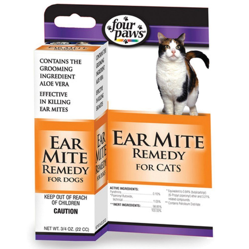 Four Paws Mite Remedy For Cats Awesome Cat Product Click The Image Cat Health And Supplies Cat Ear Mites Cat Remedies Cat Health