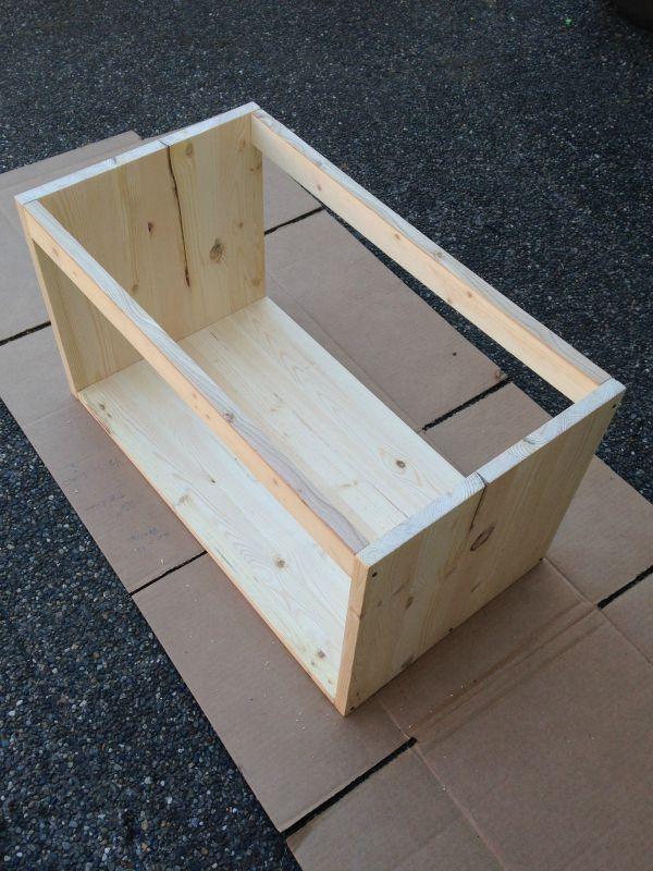 Diy Record Box Finished Box Diy Vinyl Storage Record Boxes