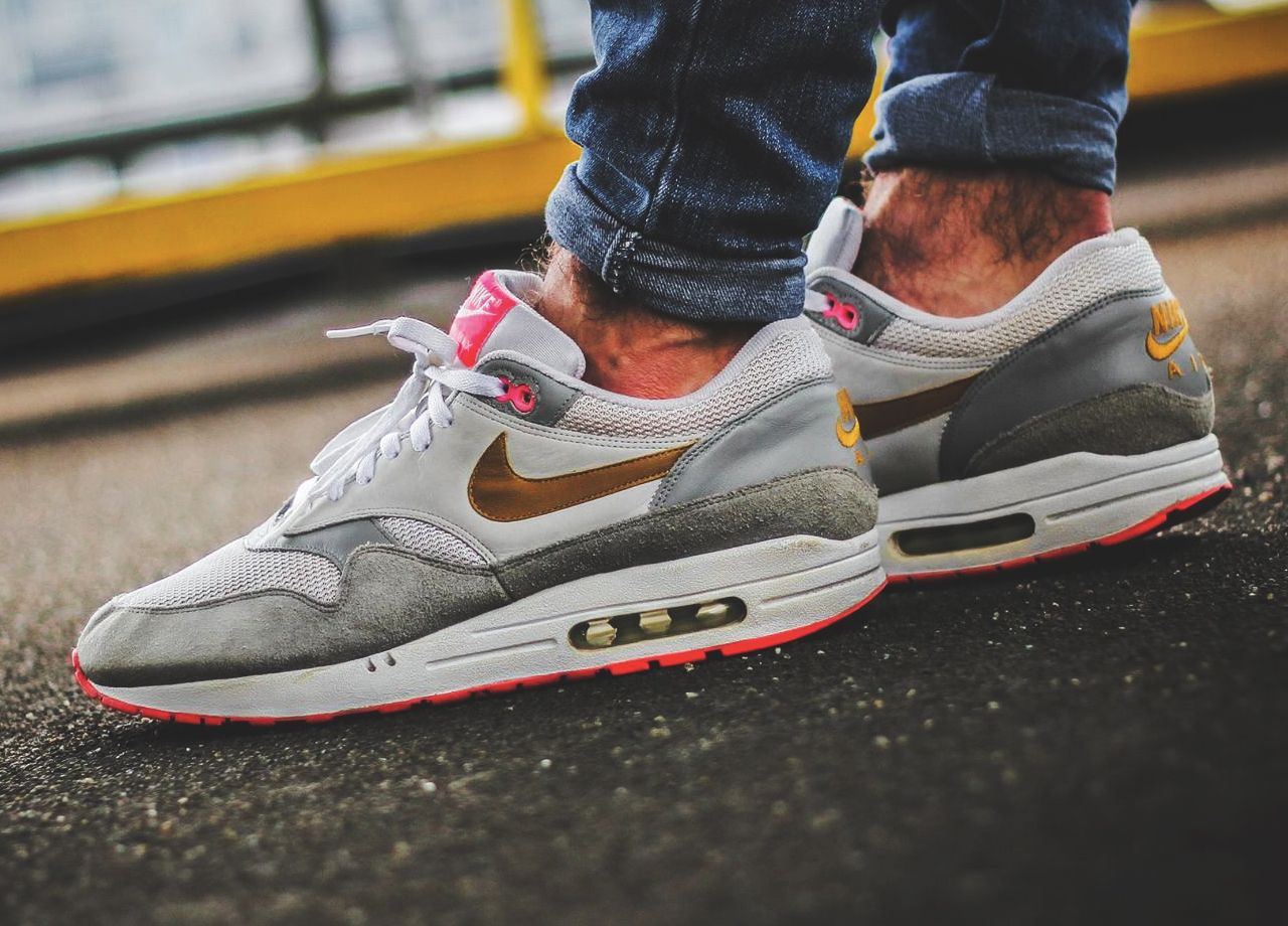 check out c4b80 56dcf Nike Air Max 1 'Pink Pack' - 2007 (by Leon... – Sweetsoles – Sneakers,  kicks and trainers. On feet.