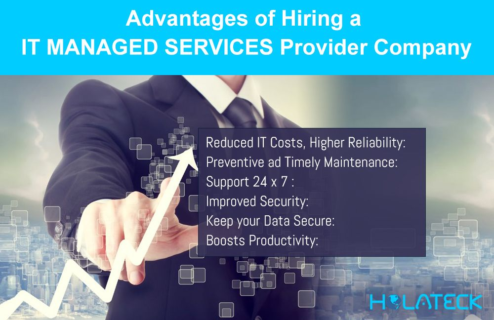 Advantages Of Hiring An It Managed Services Provider Company Information Technology Services Provider Company