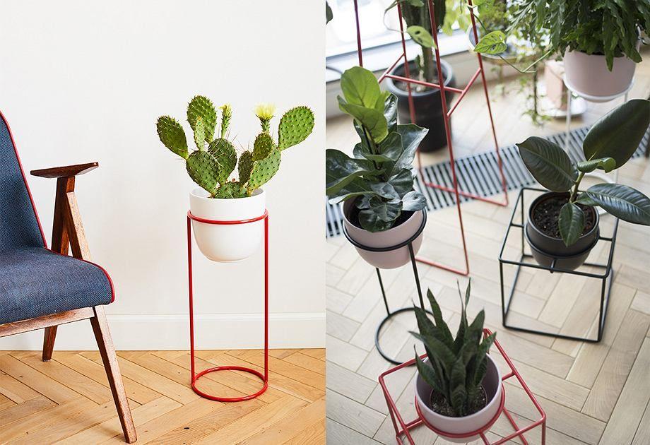 Kwietniki W Odswiezonym Stylu Z Prl Znalezlismy W Kolekcji Marki Elementuj Plants Interior