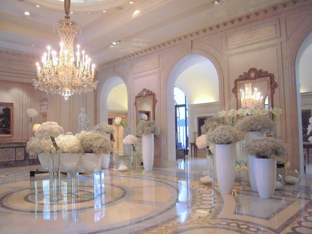 Four seasons hotel george v paris le palace maryo 39 s for Design hotel paris