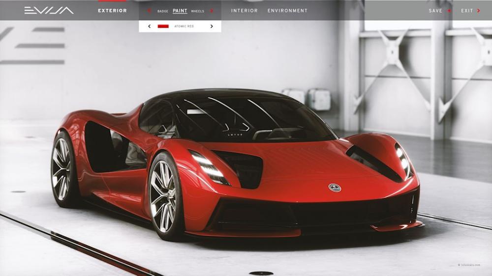 Lotus Evija Configurator Will Be Sent To Buyers Homes Autoblog