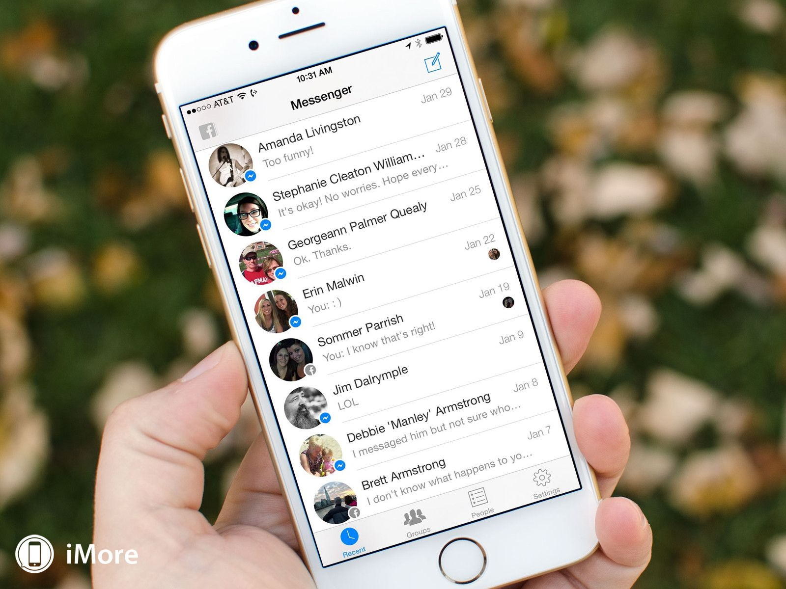 Steps to Delete Facebook App Inbox Message on iPhone iPad