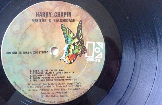 Your Place To Buy And Sell All Things Handmade Vinyl Record Album Chapin Love Songs