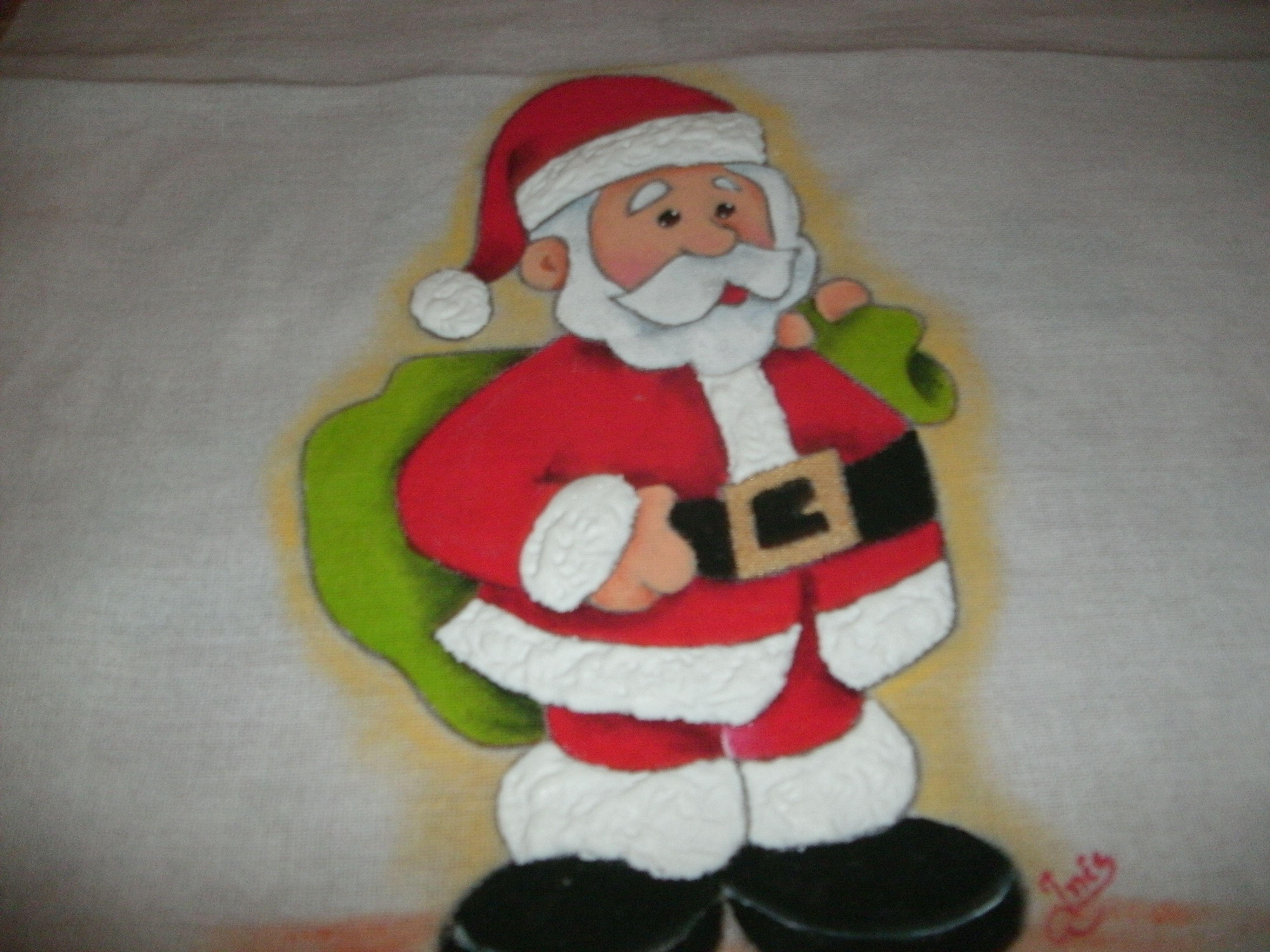 inesmoreira60@hotmail.com pano de prato, pintado à mão