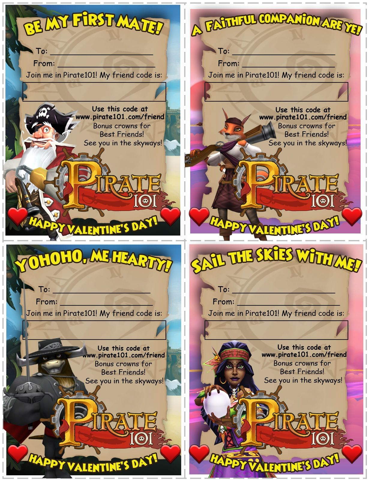 Gift Certificates | Pirate101 Free Online Game | Pirate101 | Gift