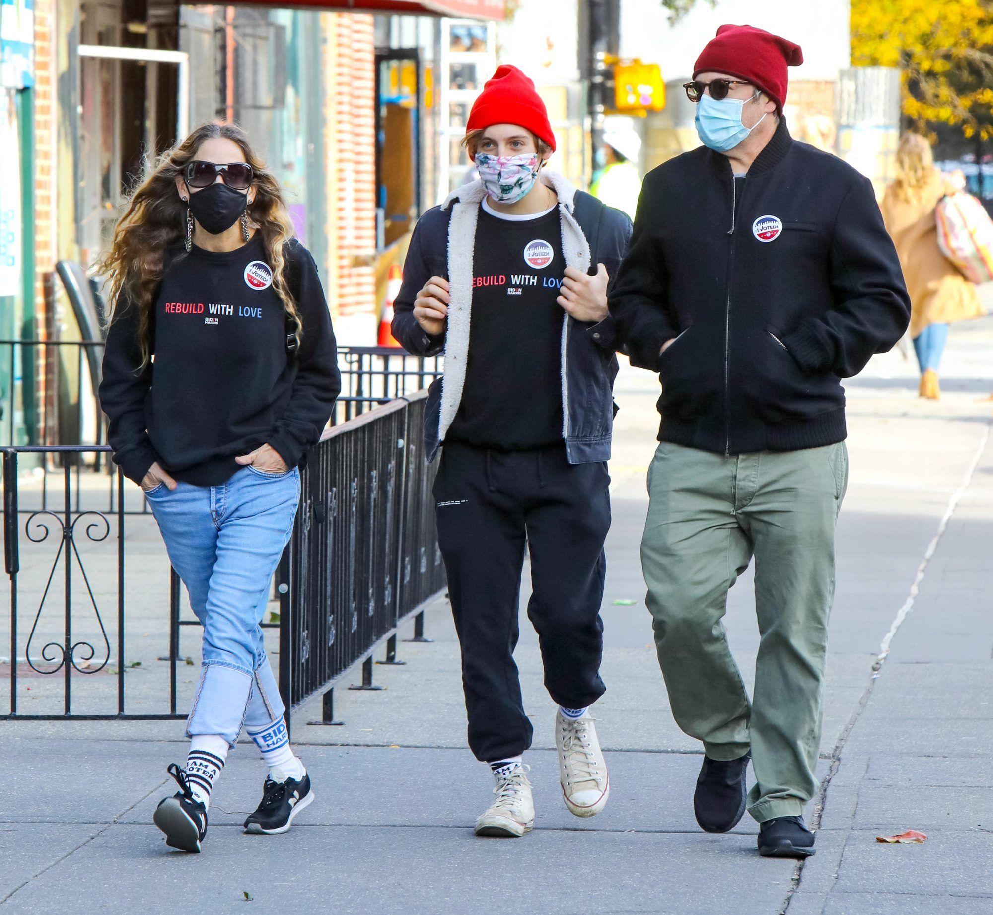 Sarah Jessica Parker and Matthew Broderick Vote wi