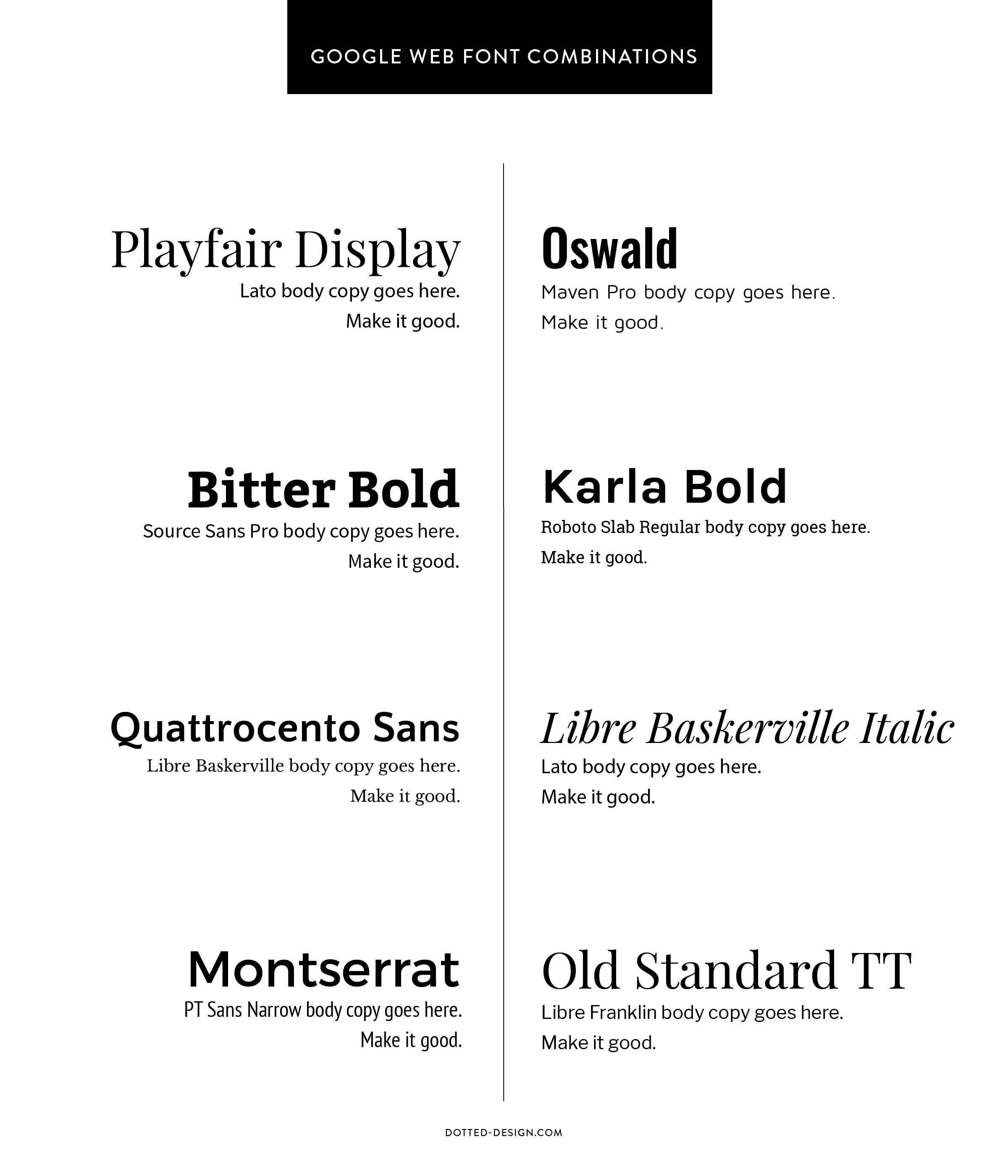 Current Favorite Google Font Pairings Google Font Pairings Google Fonts Font Pairing