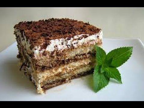 Receta Tiramisu Postre Casero Cocina Conmigo Youtube