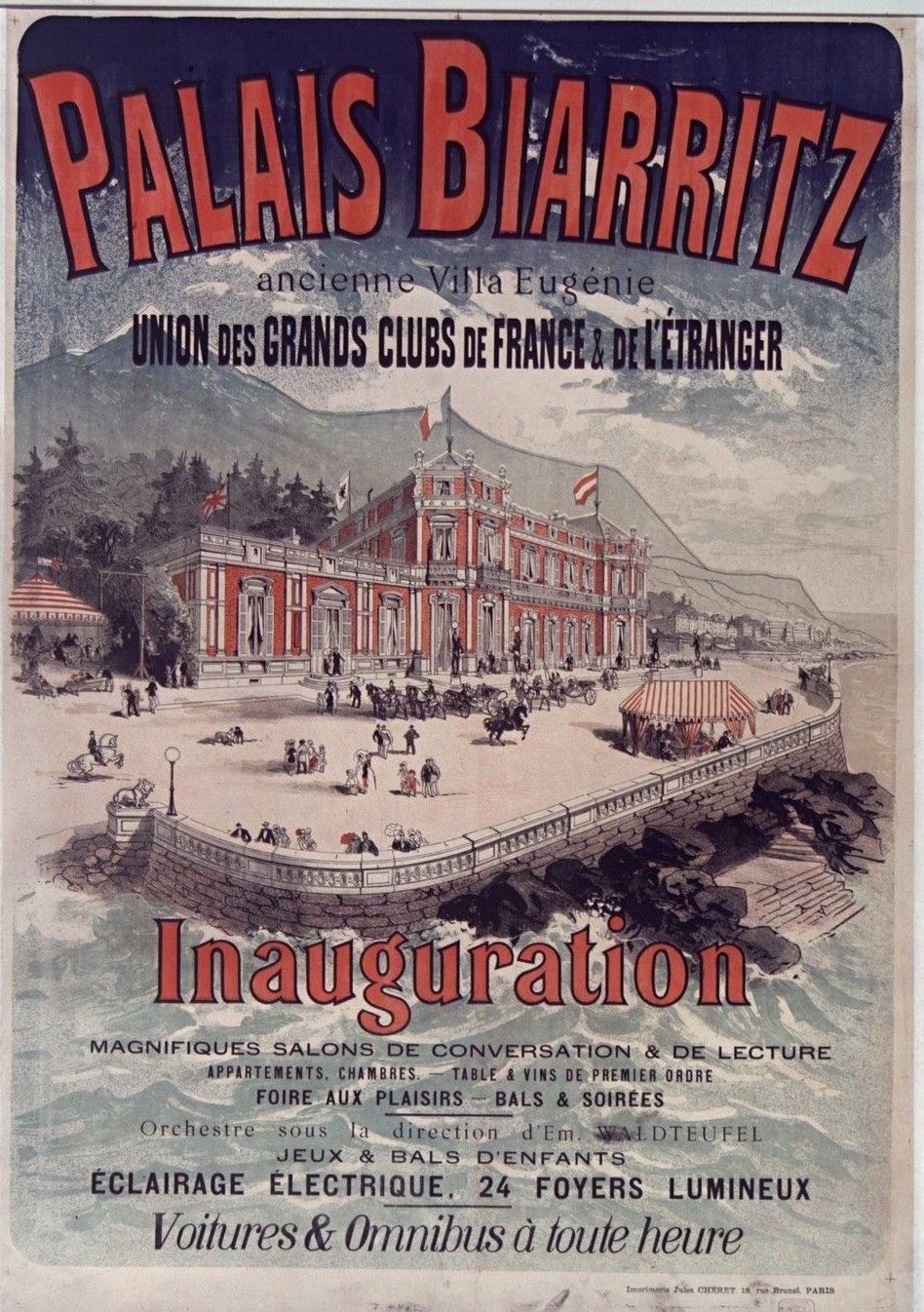 Pin By Merryvitericoleccion On Vacances De La Belle Epoque Biarritz Vintage Travel Posters Travel Posters