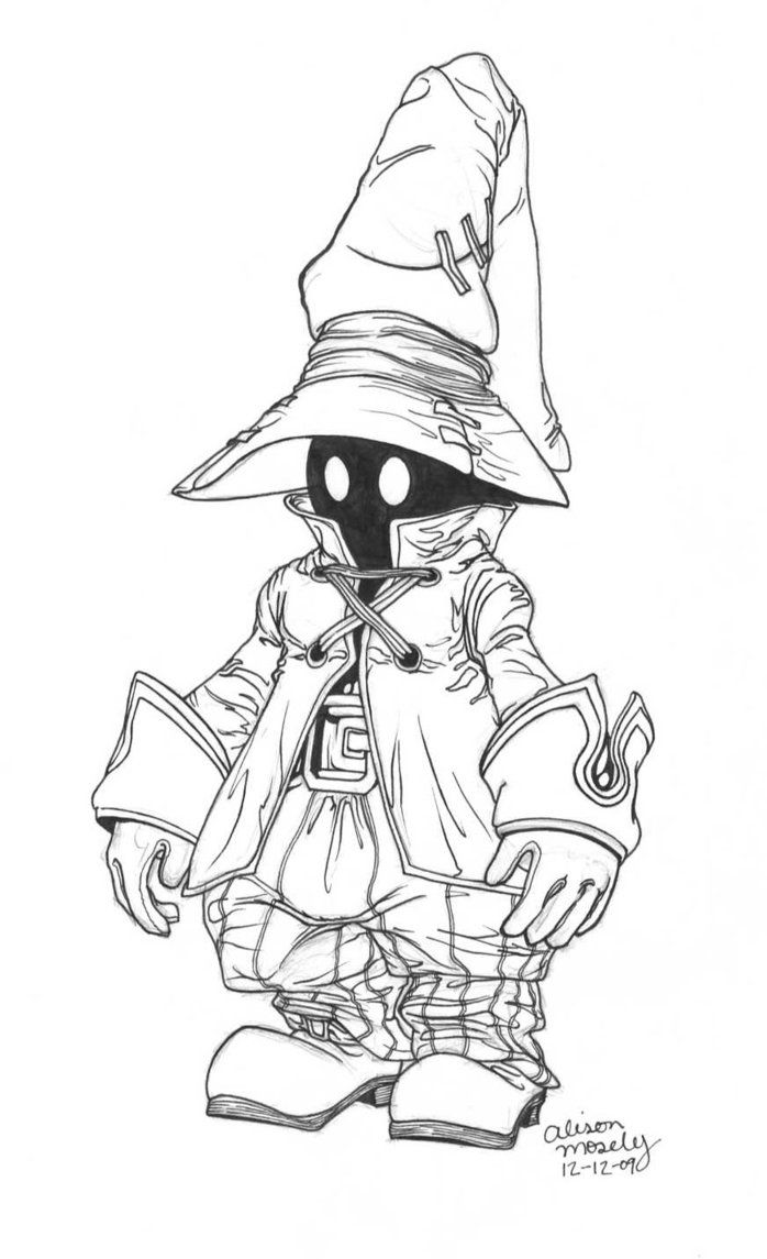 Vivi Final Fantasy 9 By Themoseali Deviantart Com On Deviantart