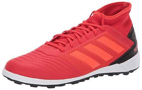 26cb68a5a8e3 adidas Men's Predator 19.3 Turf, Active Solar red/Black, 10.5 M US ...