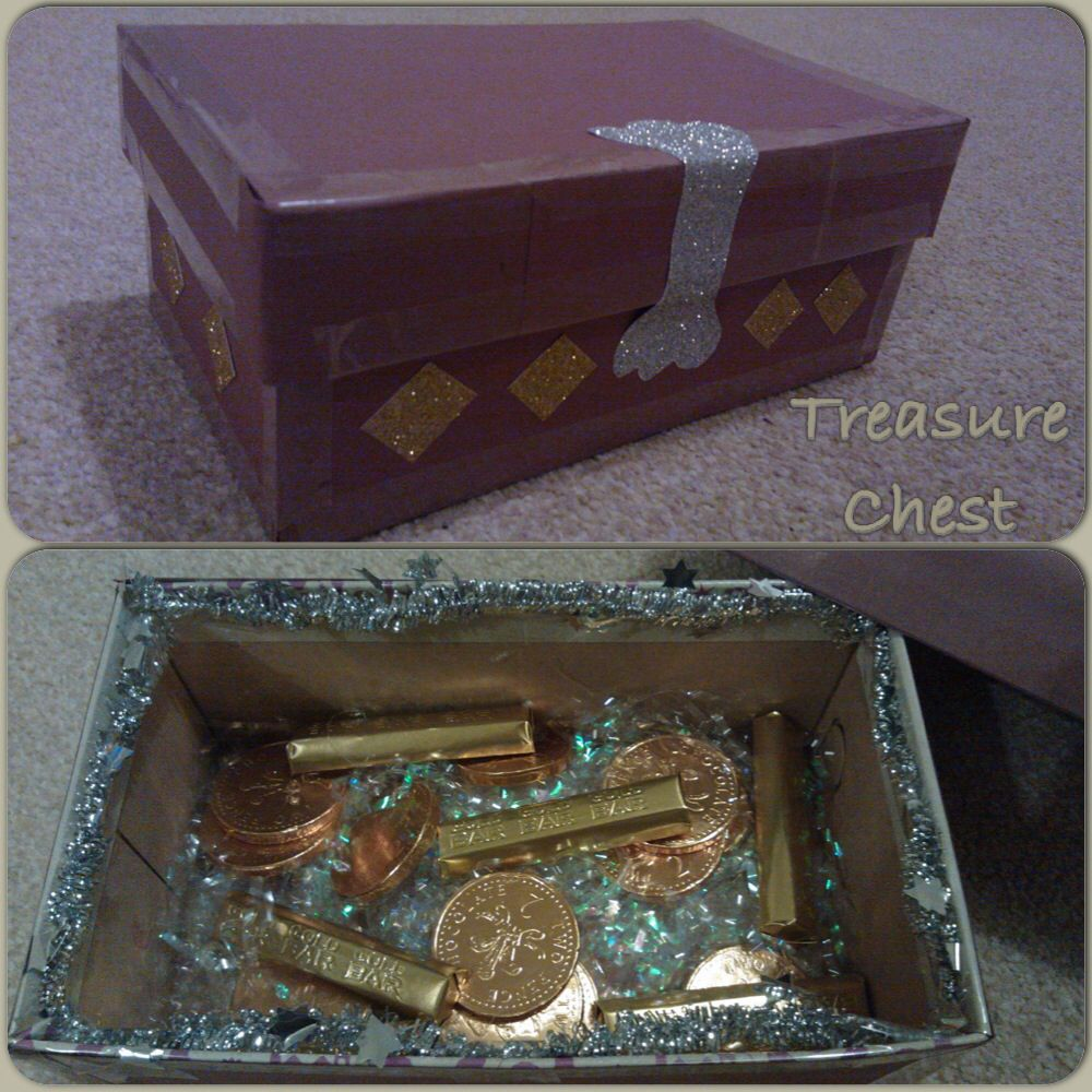 Decorating A Shoe Box: Decorate An Old Shoe Box And Fill With