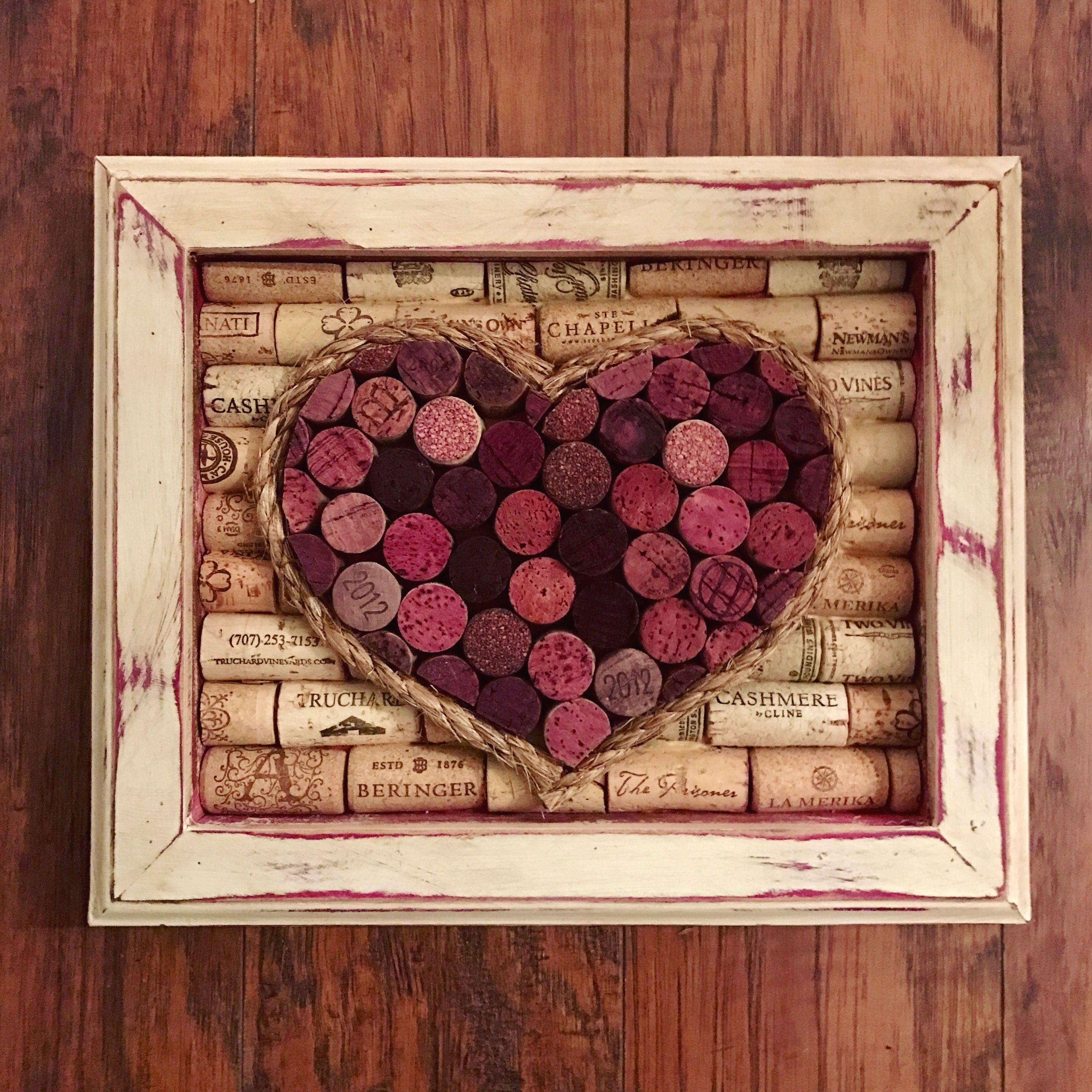 Wine Cork Heart Wine Cork Crafts Wine Cork Crafts Wedding Wine Cork Crafts Christmas