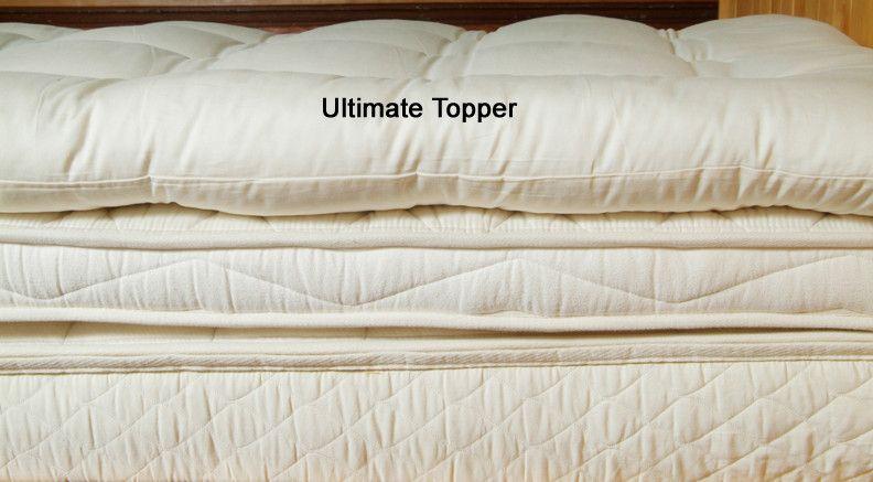 Quilted Mattress Topper Wool Mattress Mattress Topper Mattress