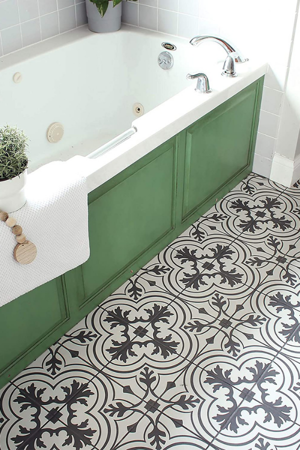 upgrade your bathroom with these easy floor remodels, peel and stick tiles, pops, #bathroomfloorpops#peelandsticktiles#homedecor #homedecoration #diyhomedecor #homedecorating #decorhome #homedecorideas #BathroomDecor #bathroomdecoration #bathroomdecore#bathroomrugideas #homedecorlovers #homedecorationideas#homediy #homediydecor #homediyideas #homediyproject
