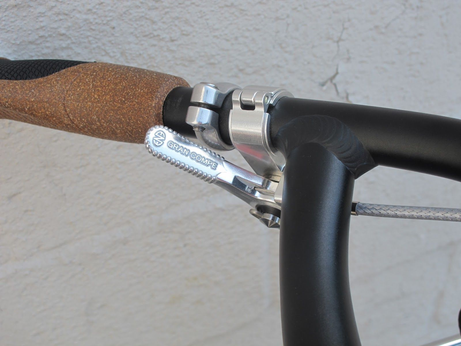 VO Thumb Shifter Mounts and Dia-Compe ENE down tube shifters (Tektro ...