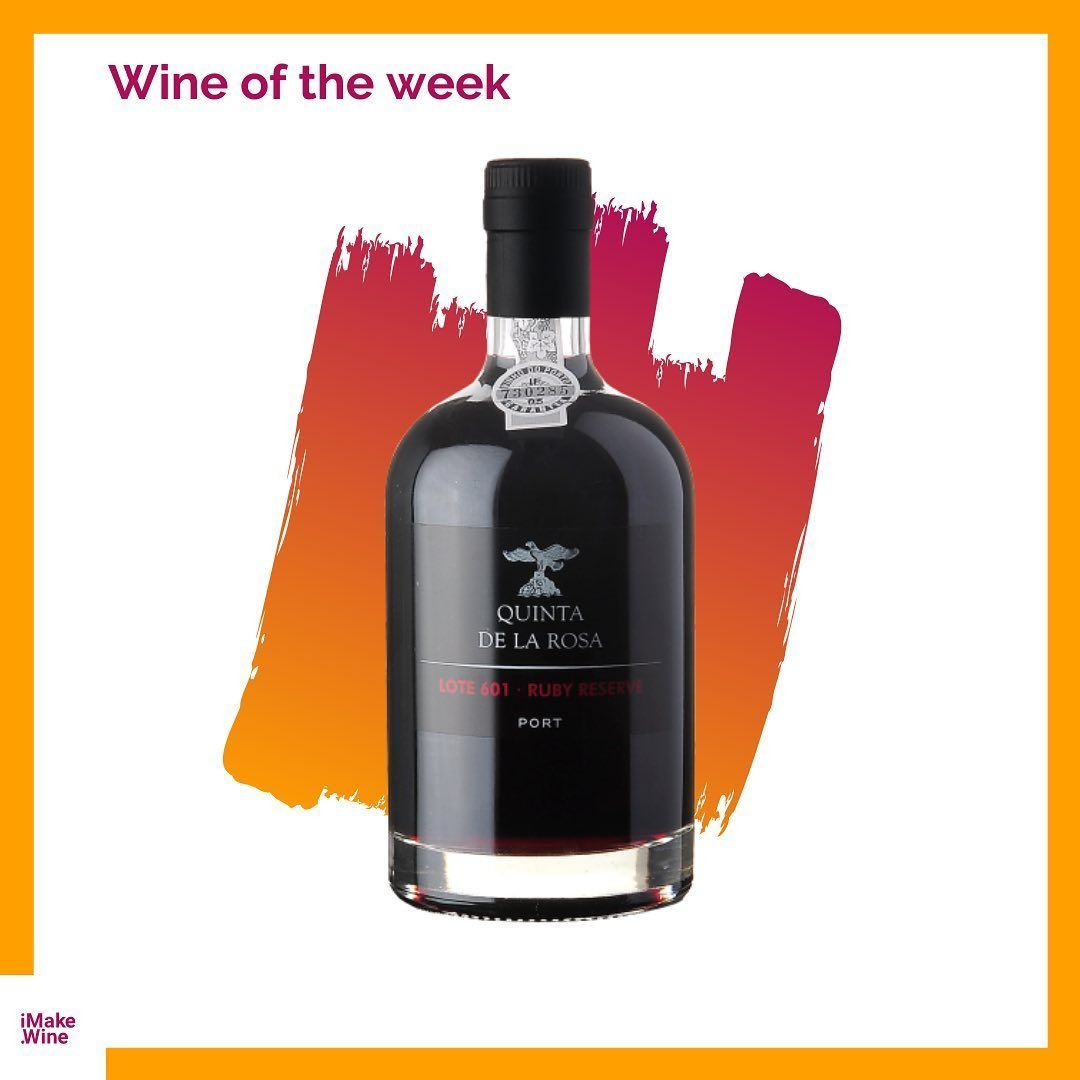 Alert For The Wine Of The Week Quinta De La Rosa Ruby Reserve Lote No 601 Port Don T You Love In 2020 Port Wine Macallan Whiskey Bottle Whiskey Bottle