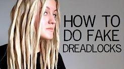 Fake Dread Locks Youtube Hair Makeup In 2018 Pinterest