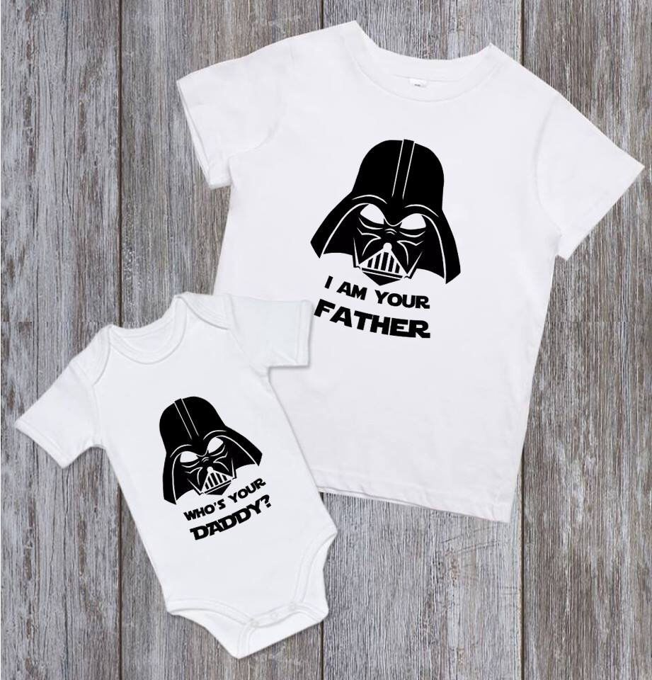 96c6dcf3 Excited to share the latest addition to my #etsy shop: Father and Son Shirt  Jedi Master and Jedi In Training Star Wars shirt Dad and Son Matching  Outfit Dad ...