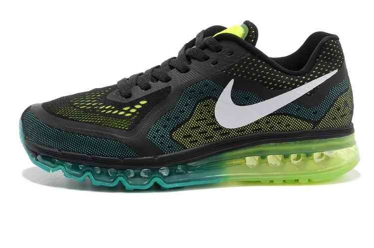 Nike Air Max 2015 Mens Shoes Black Fluorescence Green