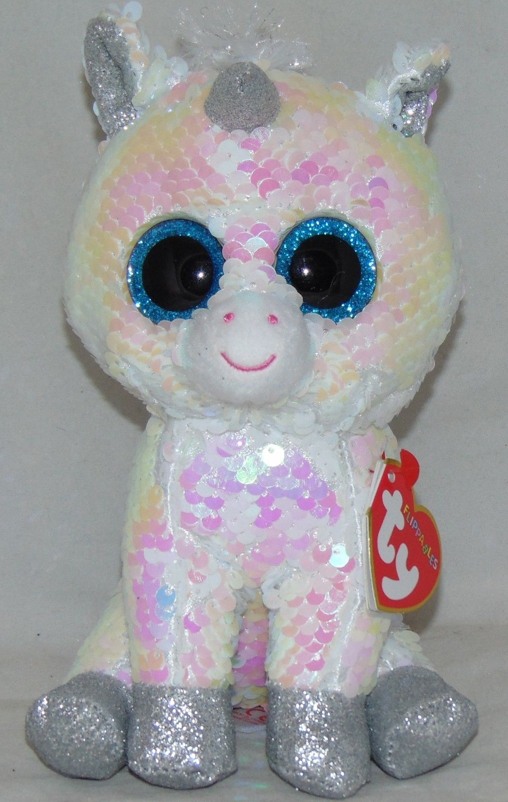 90e2c09373e Ty 19203  Hot New Toy! Ty Flippables Diamond The Unicorn Changing Sequins 6  Htf -  BUY IT NOW ONLY   14.99 on  eBay  flippables  diamond  unicorn   changing ...