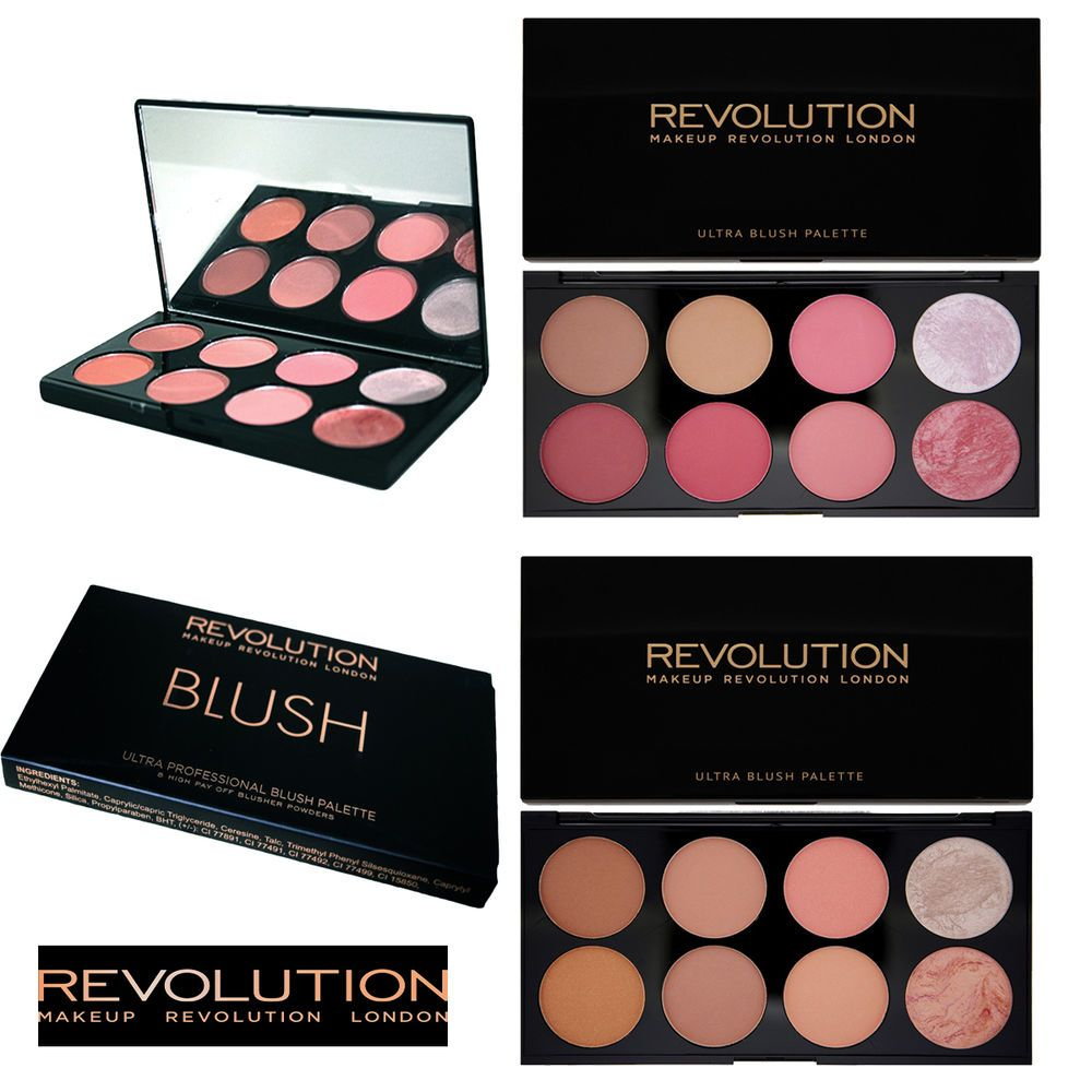 Details about MAKEUP REVOLUTION Blush Highlight Bronzer