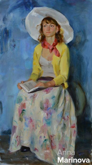 За чтением Anna Marinova