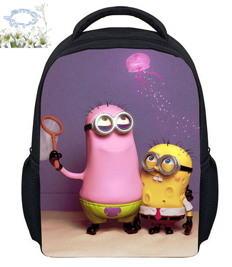 Hot Sale 9 Style Despicable Me Backpack Cartoon Mochila Feminina Boy Girls Children Mochila Escolar Gift Kids Free Shipping C103 #Affiliate