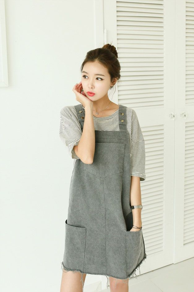 196ab712b5 Pocket Button Overall