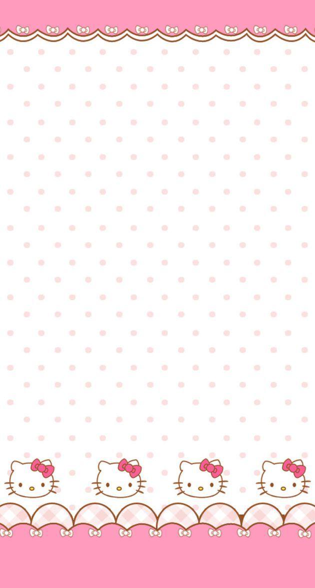 かわいいキティちゃん Iphone壁紙 Wallpaper Backgrounds Iphone6 6s And