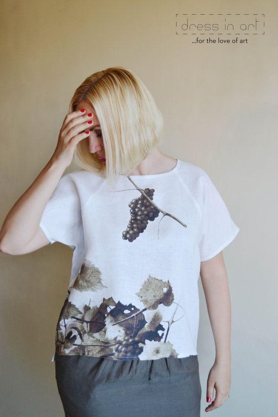 Linen blouse for women, summer blouse, linen clothes women, women outfits, summer top, linen top, shirts for woman, blouse pattern women