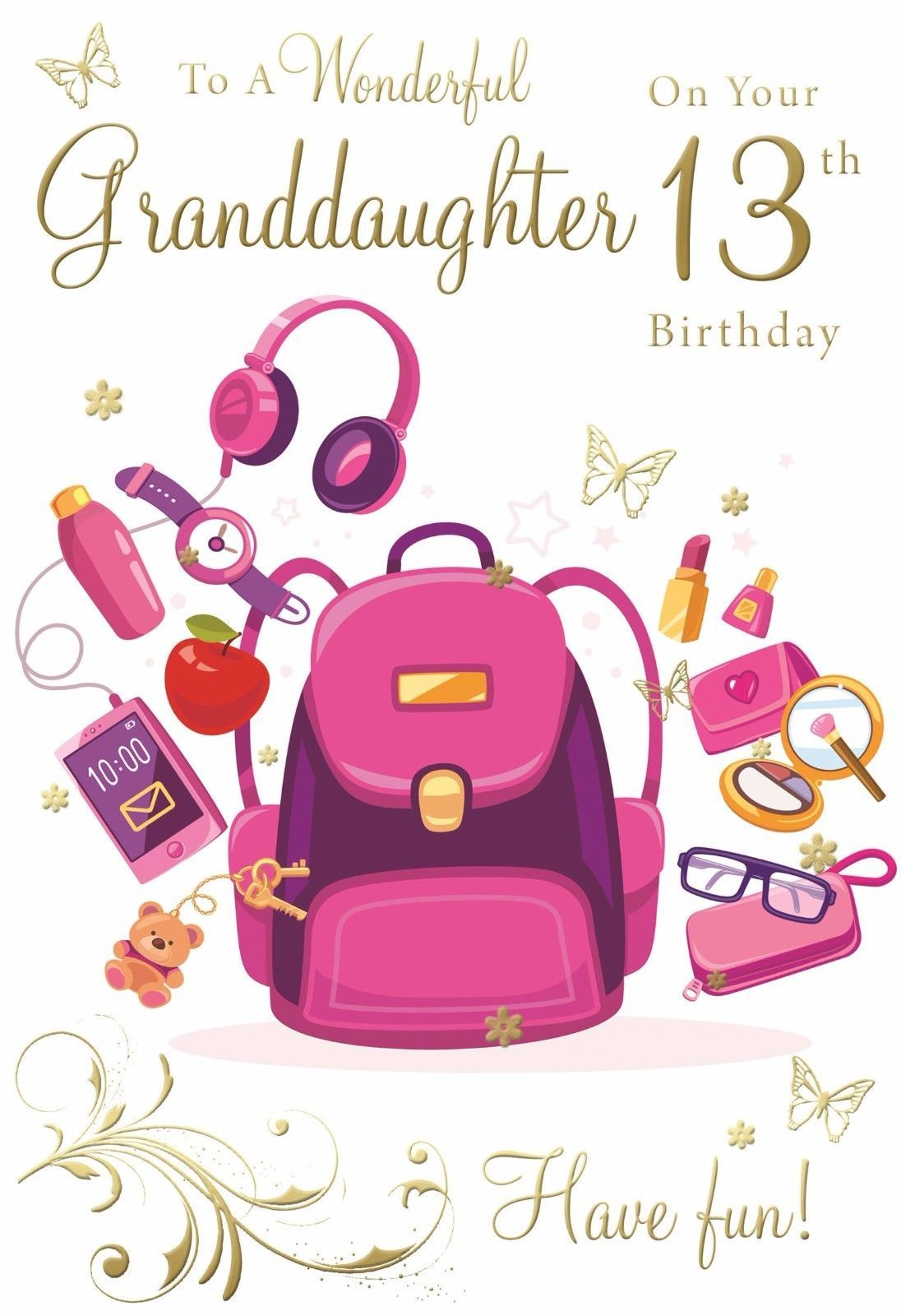 Born in august female flower word design happy birthday
