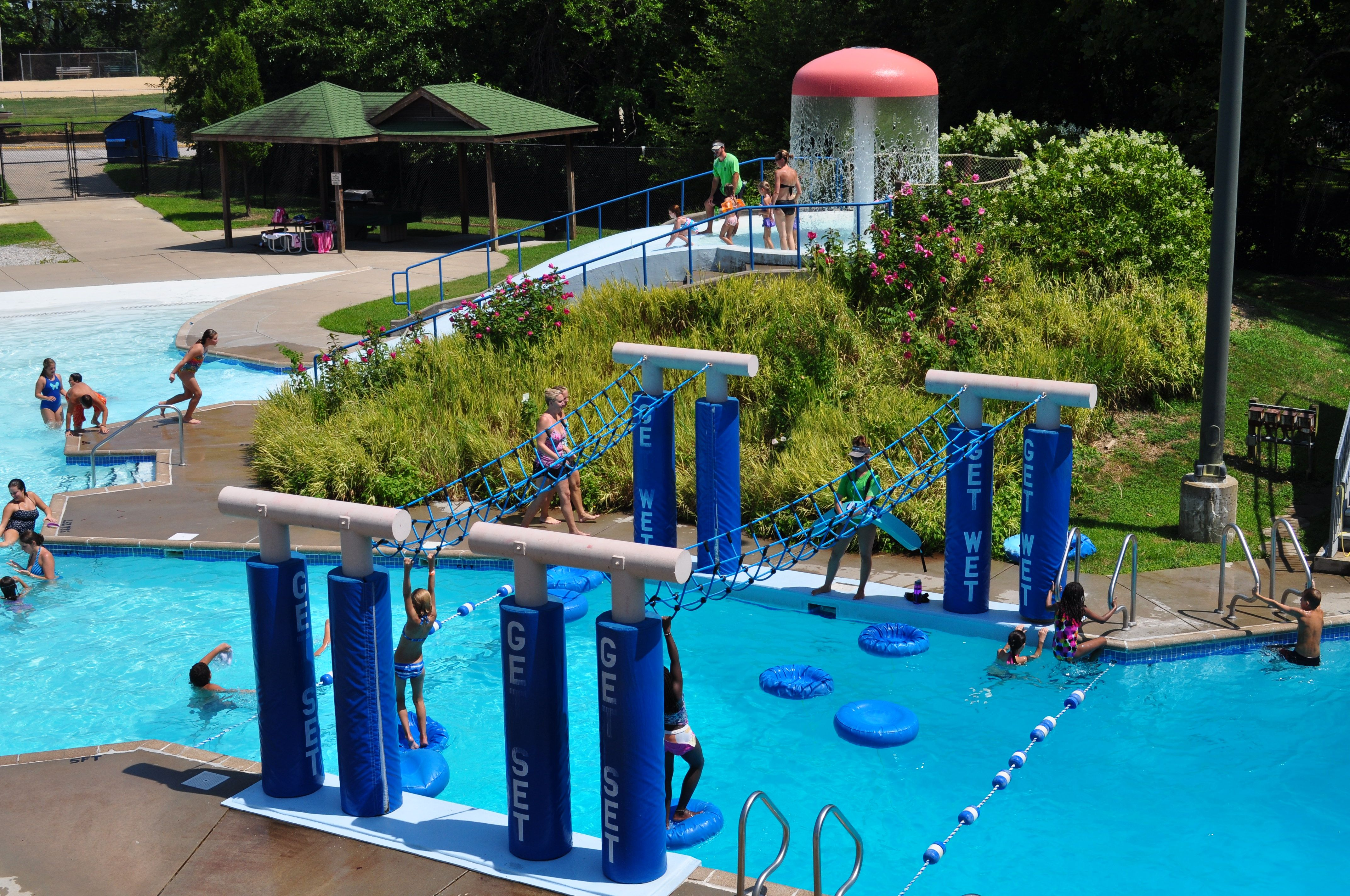 Blanchette swimming pool st charles mo parks and