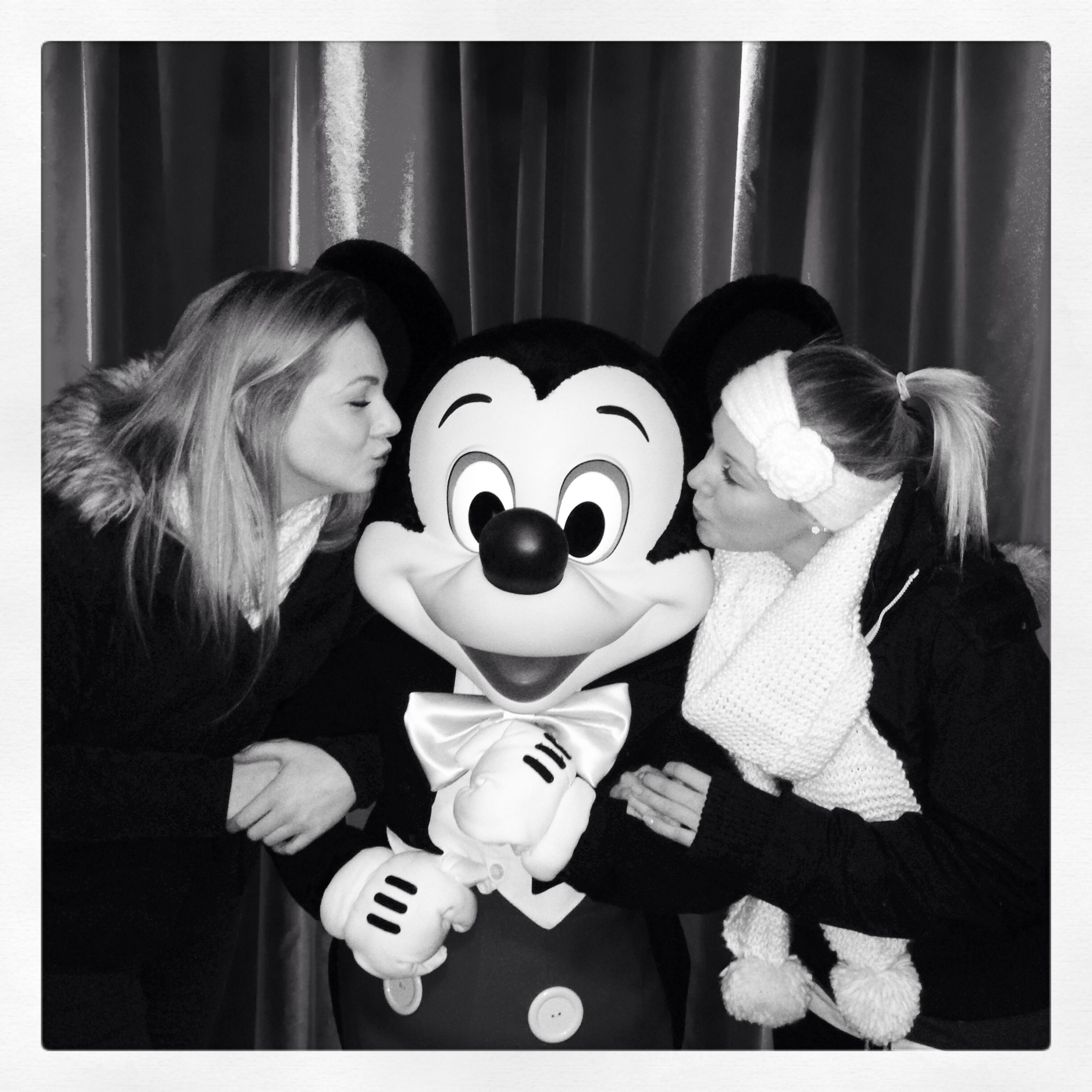 Meeting Mickey Mouse!