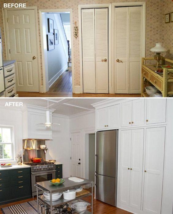 Best Frumpy Old House Kitchen Remodel Pantry Benjamin Moore 400 x 300