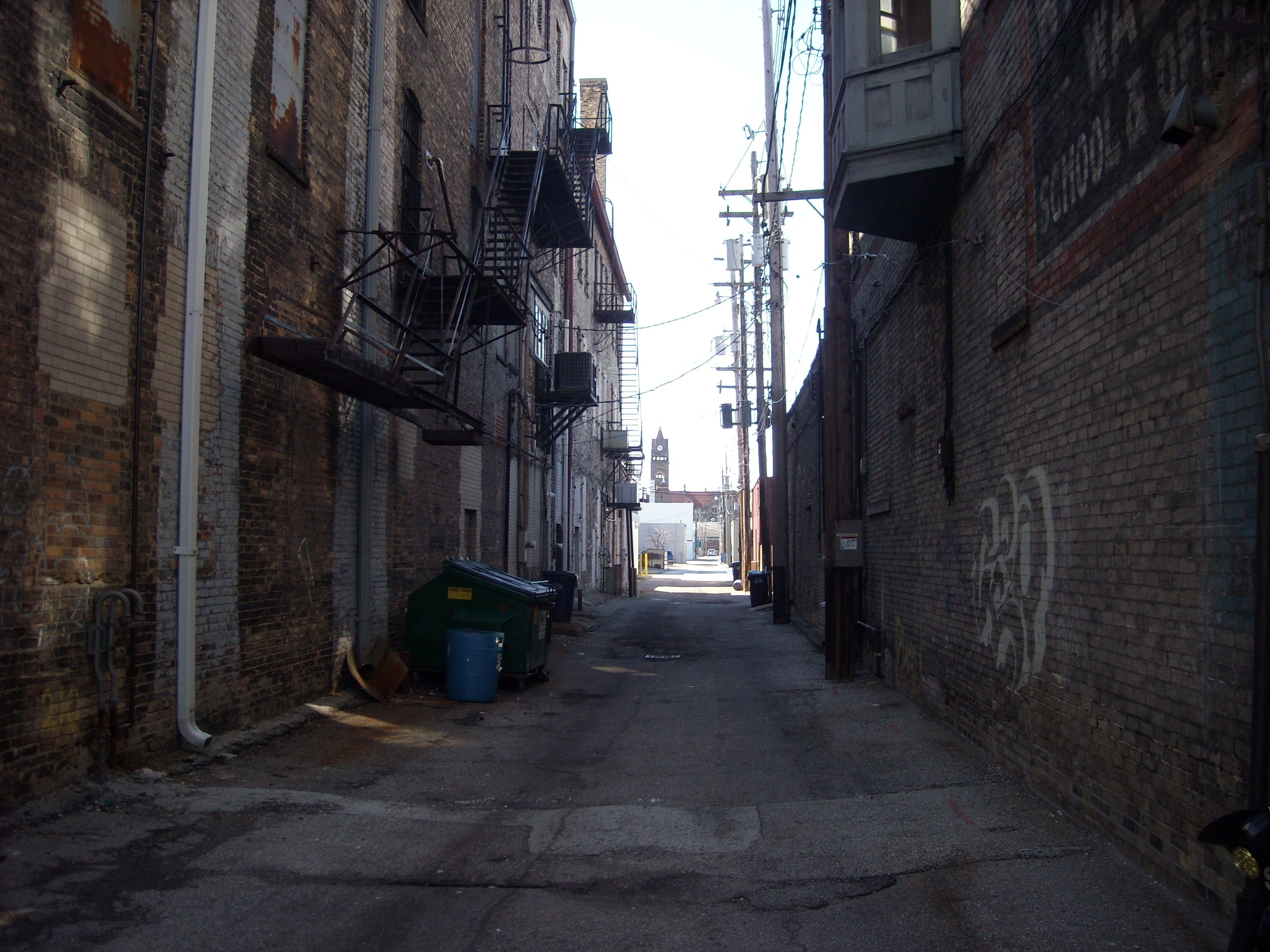 Alleyway Wallpaper Dark Alleyway Endroits A Visiter